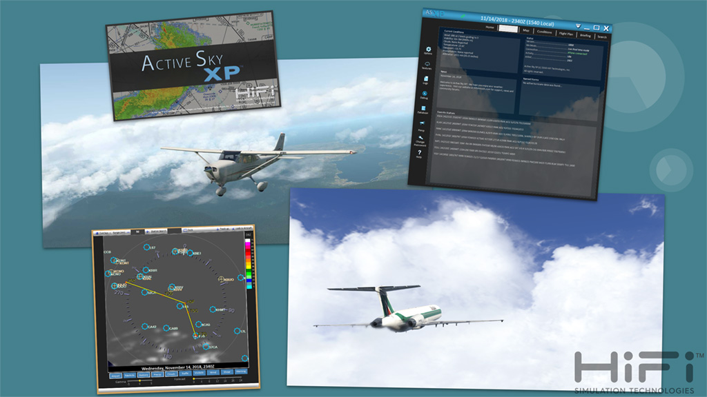Active Sky XP | HiFi Simulation Technologies